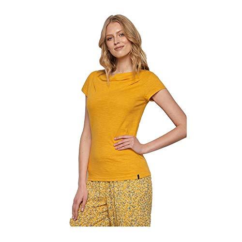 Tranquillo Damen Basic-Shirt Lore, Farbe: Sunset, Gr.: S