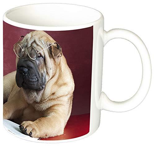 MasTazas Cachorro Shar Pei Puppy Tasse Mug