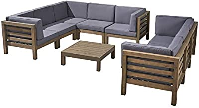 Amazon.com : Festnight 4 Piece Garden Patio Outdoor Indoor ...