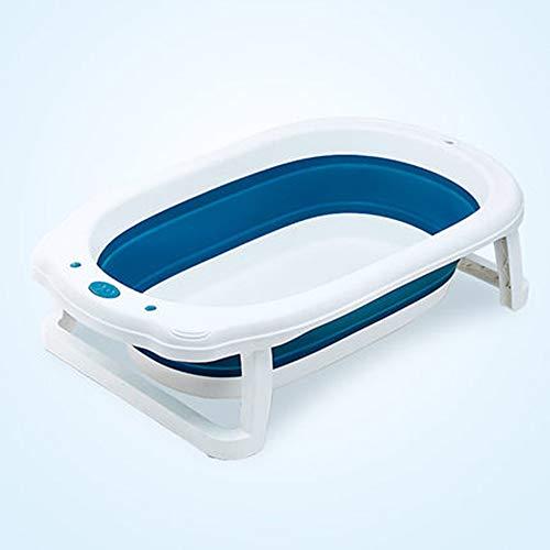 Temperatuurgevoelige babybadje, pasgeboren kunnen zitten en liggen in de badkuip, PP materiaal, one-click vouwen, draagbare opslag, beschikbaar voor 0-6 jaar oud,A