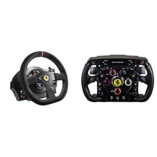 Thrustmaster T300 Integral Rw Volante, Alcantara Edition - PC/PS4/PS3 + THRUSTMASTER Volante Ferrari F1 Wheel ADD-ON PC/PS3/PS4/Xbox One