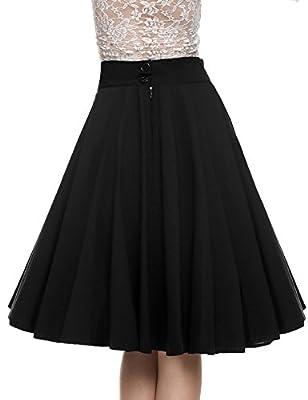UNibelle Womens White Contrast Polka Dot Print Maxi Skirt
