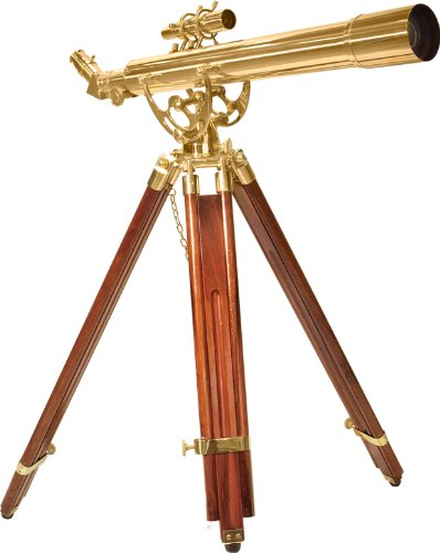 Barska Anchormaster 28x60m Brass Refractor Telescope