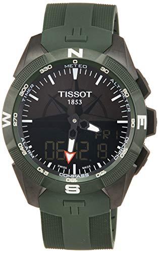 Orologio Tissot T-TOUCH EXPERT SOLAR II T1104204705100 Solare Titanio...