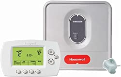 Honeywell YTH6320R1001, Programmable Redlink Enabled Wireless Focuspro Thermostat Kit, 1, White
