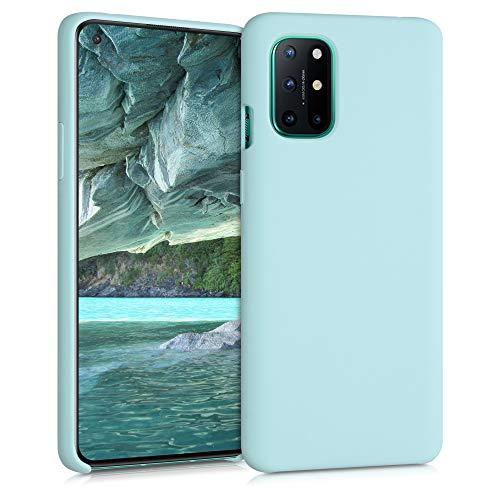 kwmobile Cover Compatibile con OnePlus 8T - Cover Custodia in Silicone TPU - Back Case Protezione Cellulare Menta