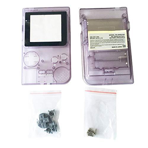 OSTENT Capa de substituição para console de bolso Nintendo GBP Game Boy Color Clear Purple