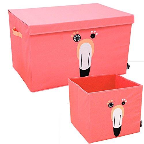 Set de rangement Flamingos - le flamant - Les Déglingos