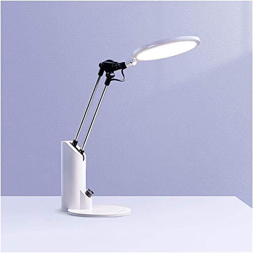 Hwljxn Lámpara de escritorio LED Lámpara de escritorio LED con 3 modos de iluminación Lámpara de oficina regulable Lámpara de estudio flexible para la oficina del dormitorio de la universidad del hoga