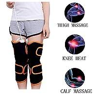 YASE-king 電気暖房膝パッド多機能膝の痛みを軽減するマッサージマッサージレギンス膝関節閉じるために人間のボディマッサージ