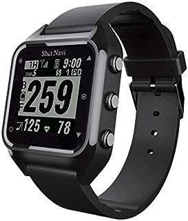 Shot Navi HuG(ショットナビ ハグ) 心拍・歩数計搭載 腕時計型GPS測定ナビゲーション ゴルフウォッチ