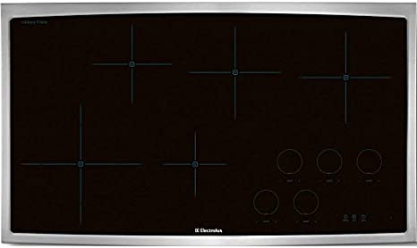 """Electrolux 36"""" Stainless Steel Induction Cooktop"""