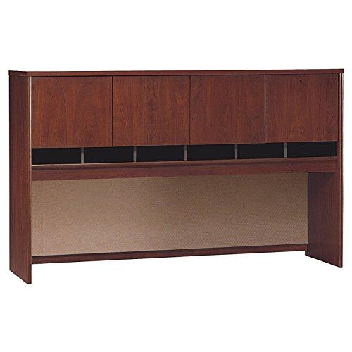 Bush Business Furniture Series C 4 Door Hutch, 72W, Hansen Cherry
