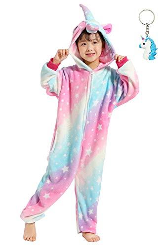 Landove Pijama Unicornio Niña Niño Mono Franela