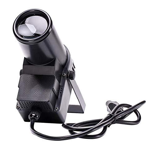 U`King 30W LED Pinspot Lichter RGBW Scheinwerfer DMX512 Sound Auto Modi Lichteffekt für Geburtstags Party Disco Bar KTV, schwarz