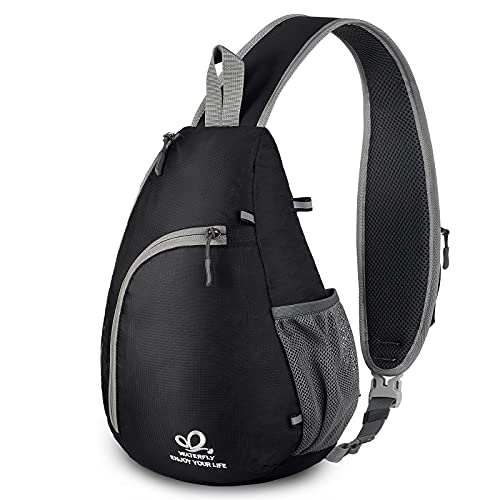 Waterfly Chest Sling Shoulder Backpacks Bags Crossbody Rope Triangle Rucksack for Hiking
