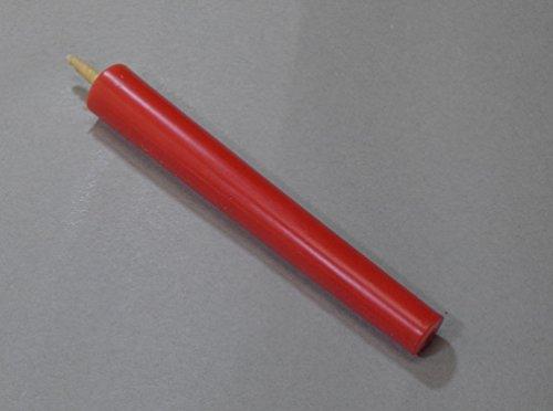 和ろうそく 型和蝋燭 ローソク【朱】 棒 10号 朱色 10本入り 約16.5センチ 約2時間40分燃焼