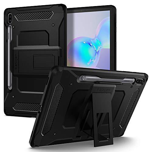 Spigen Tough Armor Pro Kompatibel mit Samsung Galaxy Tab S6 Hülle (2019) - Schwarz