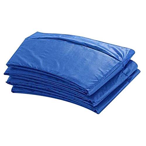 Haonan Alfombrilla de protección de trampolín, almohadilla de seguridad para trampolín redondo de protección de primavera cubierta resistente al agua almohadilla de trampolín accesorios