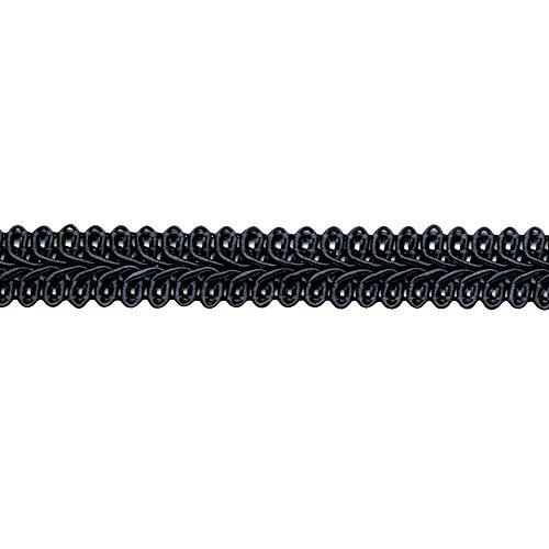 Posamentenborte 13 mm, schwarz