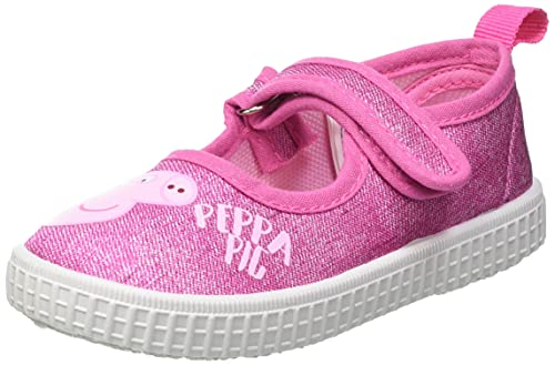Cerdá Zapatillas Lona para Niña de Peppa Pig de Color Rosa Oscuro, Unisex niños, 23 EU