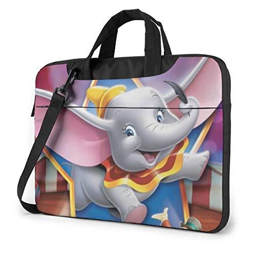 15.6 Inch Laptop Shoulder Bag Flying Dumbo Laptop Briefcase Shoulder Messenger Bag Case Sleeve LAPT-127