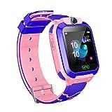 Mioloe Orologio Smart Phone per bambini 3-12 anni Ragazze GPS/LBS Tracker Touch Screen SOS Gioco...