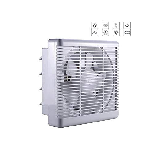 ASSAUU_ Low Energy Silent Kitchen Bathroom Extractor Fan Ventilation Extraction, Air Volume: 1100m³ /h - 40W