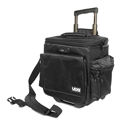 UDG Ultimate SlingBag Trolley DeLuxe MK2 Black Borsa Porta dischi, Nera