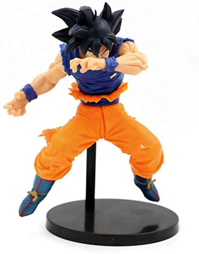 ZXLLY Dragon Ball Goku Fighting Pose Action Figure PVC 20cm