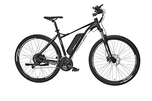 Fischer Erwachsene EM 1724 E-bike, schwarz matt, One Size