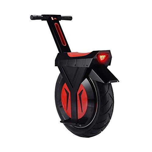 Monociclo Scooter Eléctrico 17 Pulgadas Monociclo Eléctrico Inteligente Equilibrio Deriva Coche Pensando Scooter De Somatosensorial, Monociclo Eléctrico Vespa 500W Motocicleta 2020
