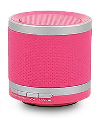 Mini Bluetooth Lautsprecher BS-5-3W - Reichweite 10m - Line-In - USB - pink