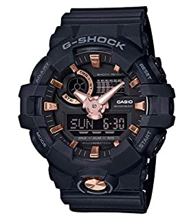 Casio G-SHOCK Reloj Analógico-Digital, 20 BAR, Dorado/Rosa/Negro, para Hombre, GA-710B-1A4ER (B07CR81V77) | Amazon price tracker / tracking, Amazon price history charts, Amazon price watches, Amazon price drop alerts