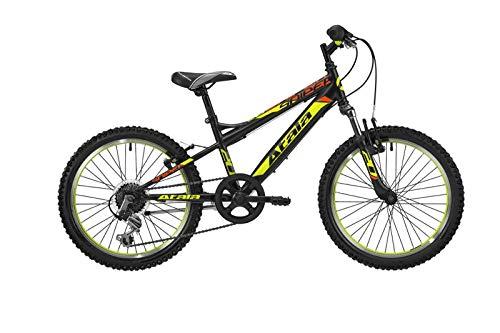 Atala Bicicletta Bambino Sniper 6V Ruota 20' Nero Giallo 2019