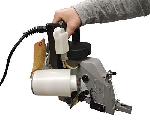 New Long NP 7 Máquina de Coser Sacos Industrial Cosedora Portátil para Cerrar y Sellar Bolsas, Ribeteadora Reparar Toldos, Lona, Big Bags, Rafia, Tejedora de Precisión Japonesa de Alta Calidad