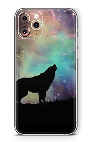 Skins4u Ultra Slim Schutzfolie für iPhone 11 Pro Skins Matte Oberfläche Aufkleber Skin Klebefolie Kratzfest Case Cover Folie Howling to The Stars