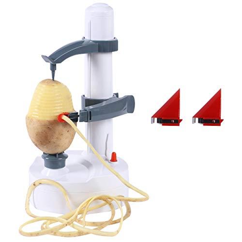 Potato Peeler Electric, Real Power Fruit Vegetable Pear Potato Peeler...