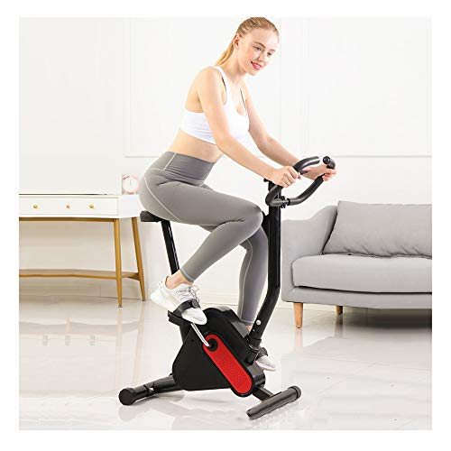 QWET Indoor-Heimtrainer, Heimtrainer - Widerstandsbandsystem - Heimtrainer - Faltbares Fitness-Indoor-Bike