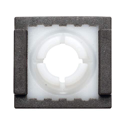 Gedotec Ersatz-Gleiter zur Reparatur Gleitstein für Gleit-Schiene Möbel-Gleiter für Türschließer - GEZE | zum Einstecken für Normalgleitschiene | 1 Stück