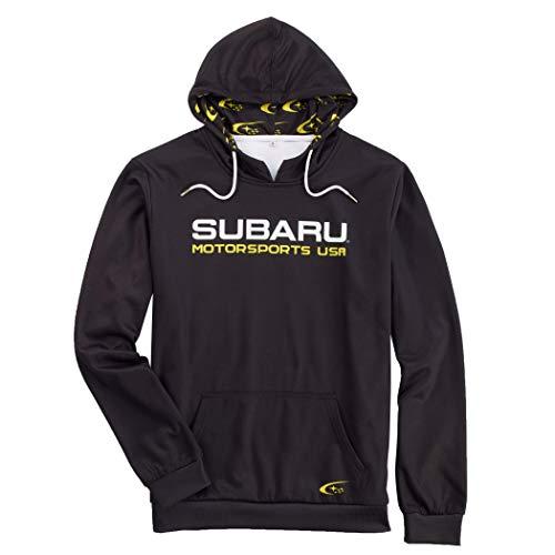 Subaru Motorsports USA Hoodie Impreza Sti WRX Rally Racing Sweatshirt Genuine Forester Outback Genuine New (XXL)