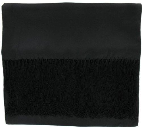 Michelsons of London Écharpe noire Robe en soie de