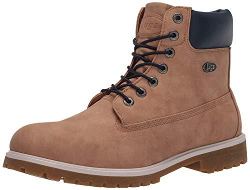 Lugz Men's Convoy Fashion Boot, Sand/Navy/Cream/Gum, 11 D US