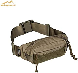 Wisport Toke Waist Pack Bag Pack Bumbag for Outdoors Military Mountain Hike, Combat, Sport, Outdoor, Camping, Paintball (RAL-7013)