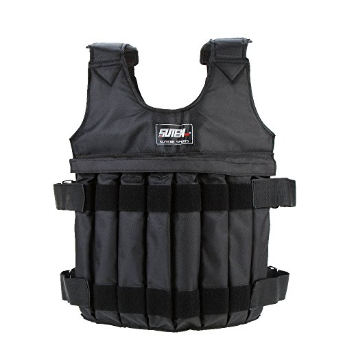 Irfora Chaleco con Peso, 16Pouch / MAX 20kg Weighted Vest