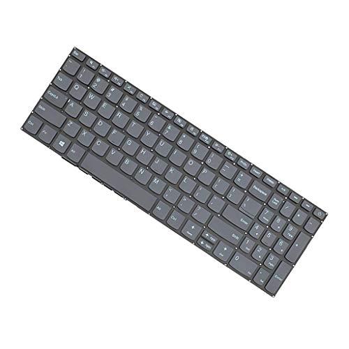 Homyl Teclado de Laptop de Substituição com Luz de Fundo para IdeaPad 320-15ABR 320-15AST
