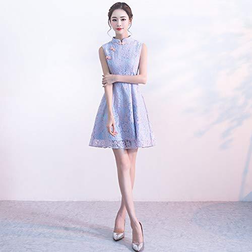 BINGQZ Jurk/Cocktail Jurken/Casual Verbeterde versie van cheongsam dagelijkse mode meisje student korte zomer een rok jurk kleine geur