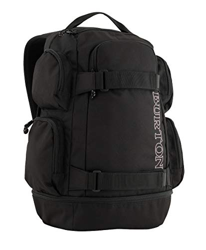 Burton Distortion Mochila, Unisex Adulto, Negro (Negro),