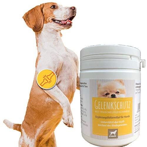EMMA® Groenlipmosselhond I Gewrichtsrichtskanker plus groenlipmosselpoeder I 150g I Poeder Regeneratie van het bewegingsapparaat in plaats van gewrichtspillen Honden