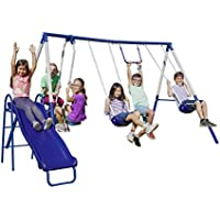Sportspower Arcadia Metal Swing Set